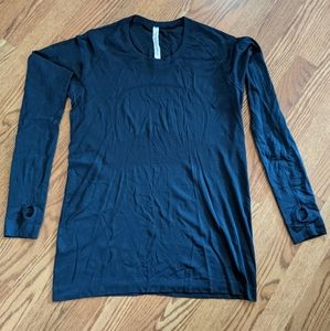 Lululemon Long Sleeved Swiftly Tech Navy Size 12